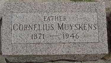 MUYSKENS, CORNELIUS  D.1946 - Sioux County, Iowa | CORNELIUS  D.1946 MUYSKENS