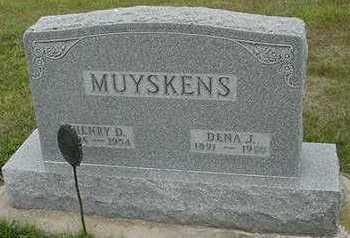 MUYSKENS, HENRY D. - Sioux County, Iowa | HENRY D. MUYSKENS