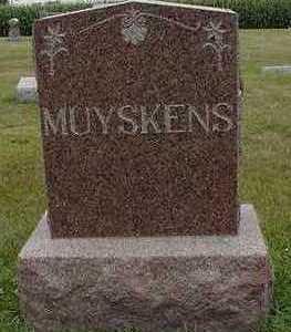 MUYSKENS, HEADSTONE - Sioux County, Iowa   HEADSTONE MUYSKENS