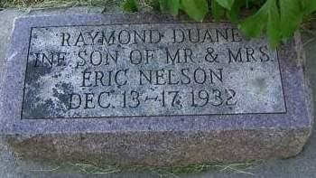 NELSON, RAYMOND DUANE - Sioux County, Iowa | RAYMOND DUANE NELSON
