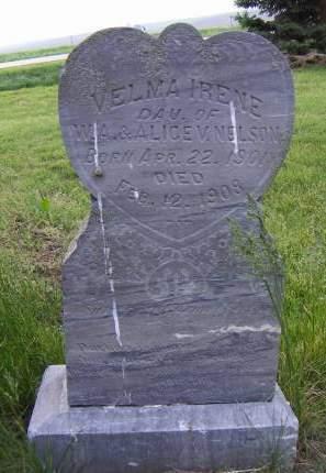 NELSON, VELMA IRENE - Sioux County, Iowa | VELMA IRENE NELSON