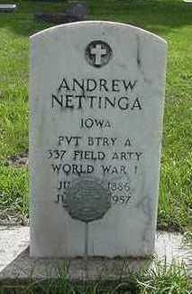 NETTINGA, ANDREW - Sioux County, Iowa | ANDREW NETTINGA
