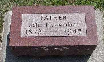 NEWENDORP, JOHN - Sioux County, Iowa | JOHN NEWENDORP
