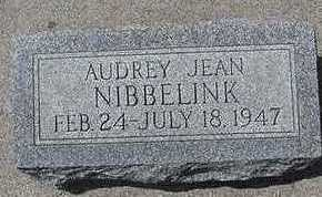 NIBBELINK, AUDREY JEAN - Sioux County, Iowa   AUDREY JEAN NIBBELINK