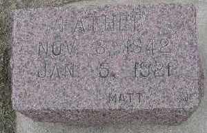 NIEMEYER, FATHER  D. 1921 - Sioux County, Iowa | FATHER  D. 1921 NIEMEYER