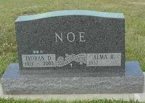 NOE, ALMA R. - Sioux County, Iowa   ALMA R. NOE