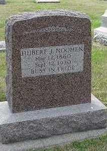 NOOMEN, HUBERT J. - Sioux County, Iowa | HUBERT J. NOOMEN