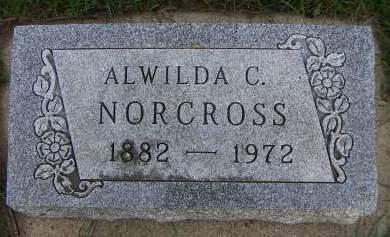 NORCROSS, ALWILDA C. - Sioux County, Iowa | ALWILDA C. NORCROSS