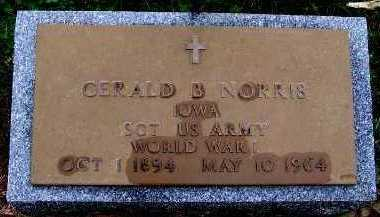 NORRIS, GERALD B. - Sioux County, Iowa | GERALD B. NORRIS