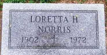 NORRIS, LORETTA H. - Sioux County, Iowa | LORETTA H. NORRIS