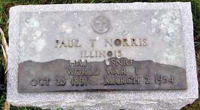 NORRIS, PAUL T. - Sioux County, Iowa | PAUL T. NORRIS