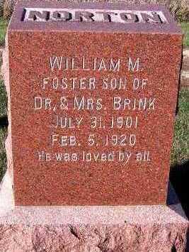 NORTON, WILLIAM M. - Sioux County, Iowa | WILLIAM M. NORTON