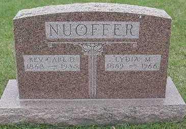 NUOFFER, CARL REV. - Sioux County, Iowa | CARL REV. NUOFFER