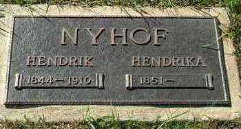 NYHOF, HENDRIKA (MRS. HENDRIK) - Sioux County, Iowa | HENDRIKA (MRS. HENDRIK) NYHOF