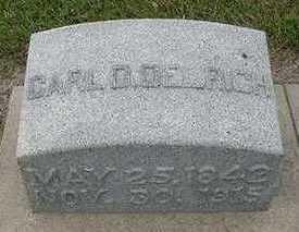 OELRICH, CARL D.  D.1915 - Sioux County, Iowa | CARL D.  D.1915 OELRICH