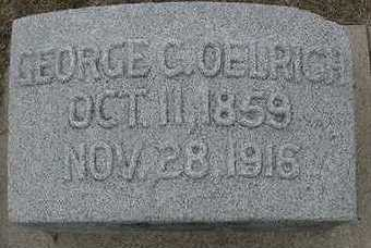 OELRICH, GEORGE C.  D.1916 - Sioux County, Iowa | GEORGE C.  D.1916 OELRICH