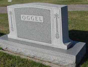 OGGEL, HEADSTONE - Sioux County, Iowa   HEADSTONE OGGEL
