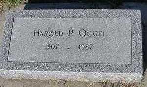 OGGEL, HAROLD P. - Sioux County, Iowa   HAROLD P. OGGEL