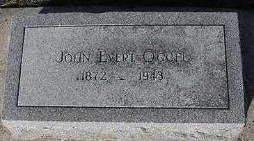 OGGEL, JOHN EVERT - Sioux County, Iowa   JOHN EVERT OGGEL