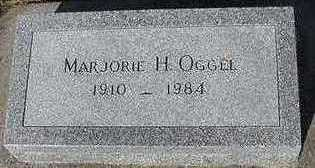 OGGEL, MARJORIE H. - Sioux County, Iowa | MARJORIE H. OGGEL