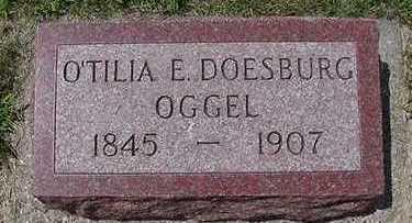 OGGEL, O'TILIA E. - Sioux County, Iowa | O'TILIA E. OGGEL