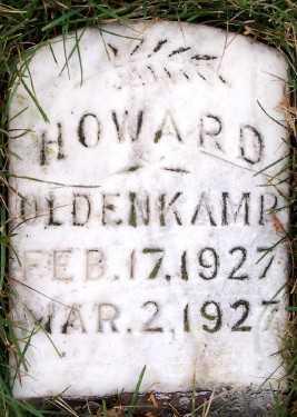OLDENKAMP, HOWARD - Sioux County, Iowa | HOWARD OLDENKAMP