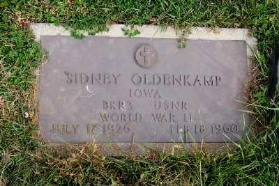 OLDENKAMP, SIDNEY - Sioux County, Iowa | SIDNEY OLDENKAMP