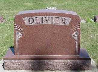 OLIVIER, HEADSTONE - Sioux County, Iowa | HEADSTONE OLIVIER