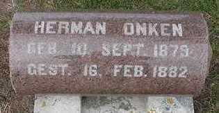 ONKEN, HERMAN - Sioux County, Iowa | HERMAN ONKEN