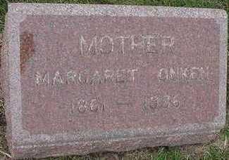 ONKEN, MARGARET - Sioux County, Iowa | MARGARET ONKEN