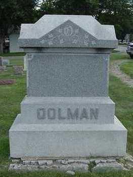 OOLMAN, HEADSTONE - Sioux County, Iowa | HEADSTONE OOLMAN