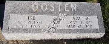 OOSTEN, AALTJE - Sioux County, Iowa | AALTJE OOSTEN