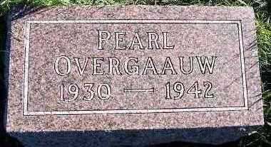 OVERGAAUW, PEARL - Sioux County, Iowa | PEARL OVERGAAUW