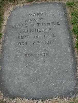 PELMULDER, MARY - Sioux County, Iowa   MARY PELMULDER