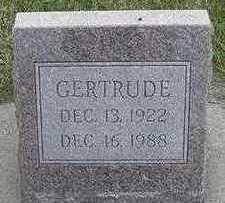PENNINGS, GERTRUDE - Sioux County, Iowa | GERTRUDE PENNINGS