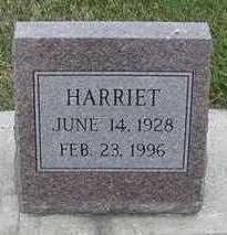 PENNINGS, HARRIET - Sioux County, Iowa   HARRIET PENNINGS