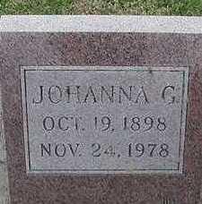 PENNINGS, JOHANNA G. D.1978 - Sioux County, Iowa | JOHANNA G. D.1978 PENNINGS