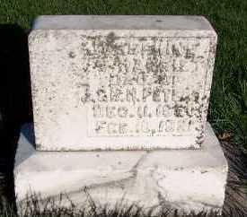 PETERS, JOSEPHINE HARRIET - Sioux County, Iowa | JOSEPHINE HARRIET PETERS