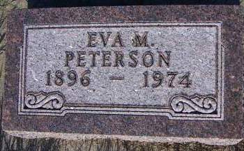 PETERSON, EVA M. - Sioux County, Iowa | EVA M. PETERSON