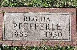 PFEFFERLE, REGINA - Sioux County, Iowa | REGINA PFEFFERLE