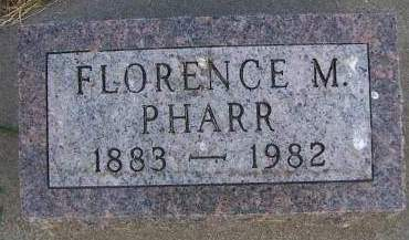 PHARR, FLORENCE M. - Sioux County, Iowa | FLORENCE M. PHARR
