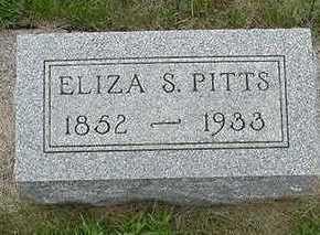 PITTS, ELIZA S. - Sioux County, Iowa | ELIZA S. PITTS