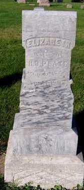 PLATE, ELIZABETH (MRS. H.J.) - Sioux County, Iowa | ELIZABETH (MRS. H.J.) PLATE