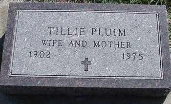 PLUIM, TILLIE - Sioux County, Iowa | TILLIE PLUIM