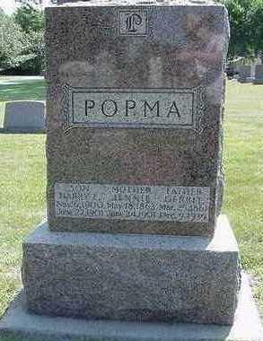 POPMA, HARRY E. (SON) - Sioux County, Iowa | HARRY E. (SON) POPMA