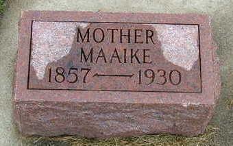 POPMA, MAAIKE - Sioux County, Iowa   MAAIKE POPMA