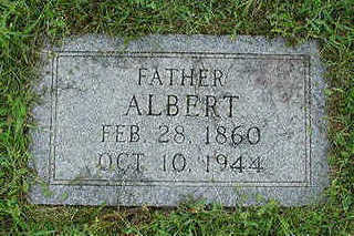 POPPEN, ALBERT - Sioux County, Iowa | ALBERT POPPEN