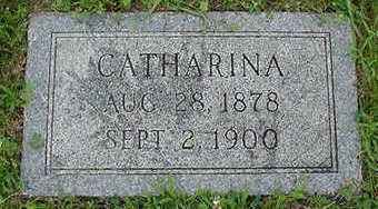 POPPEN, CATHARINA - Sioux County, Iowa | CATHARINA POPPEN