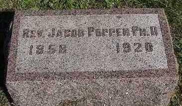 POPPEN, JACOB REV. PHD. - Sioux County, Iowa   JACOB REV. PHD. POPPEN