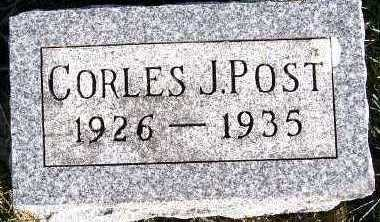 POST, CORLES J. - Sioux County, Iowa | CORLES J. POST